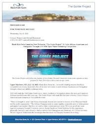 BKS The Goree Project press release